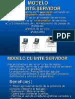 4  Modelo CLIENTE-SERVIDOR