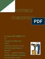 POSTURAS CORRECTAS