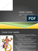 Greek Culture Power Point