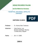 Historia Clinica Modelo Final