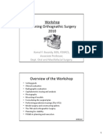 Planning Orthognathic Surgery 20103501