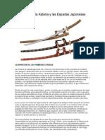 Historia de La Katana y Las Espadas Japonesas