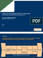 Tendencias de La Logística Integral y Las Operaciones