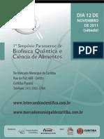 1º Simpósio Paranaense de Biofísica Quântica e Ciência de Alimentos