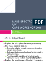Mass Spec Cape Workshop 2011(1)