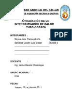 INTERCAMBIADORES DE TUBO