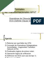 Clases 13 - DCG Gramáticas de Claúsula Definida
