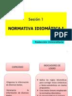 ppt1 normativa idiomática I