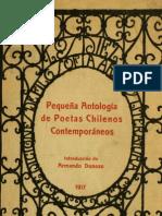 Armando Donoso -Pequeña Antología de Poetas Chilenos 1917