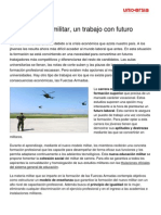 Ensenanza Militar Trabajo Futuro