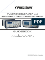 BK Function Generator and AWG Guidebook