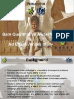 Bam Presentation Final 2007 Qual & Quant