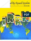 International Rice Research Newsletter Vol.4 No.4