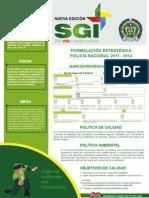 Lineas y Objetivos Estrategicos de La Policia Nacional
