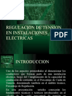 Regulacion de Tension