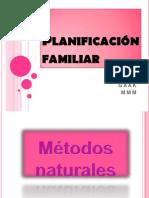 Planificación familiar trabajo