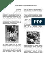 FINALinfancia,Educacionartisticay(Re)Construccionsocial 1