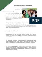 Desarrollo Fisico y Salud en La Adolescencia