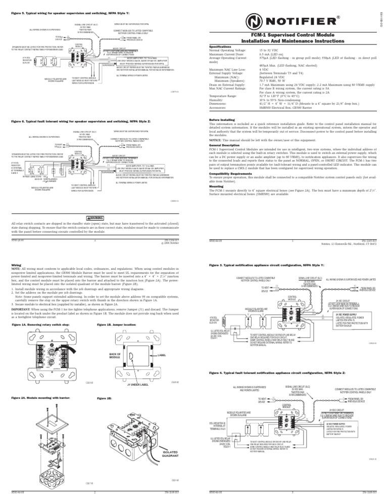 Notifier Fcm 1 Wiring Diagram from imgv2-2-f.scribdassets.com