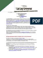 Dr. Stankov - La Ley Universal Apoya