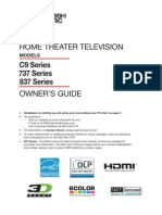Mitsubishi Tv Manual