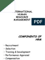 International Human Resource Management