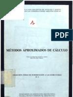 MÉTODOS APROXIMADOS DE CALCULO DE ESTRUCTURAS