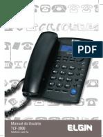 Manuel - Elgin TCF 3000 Telefone