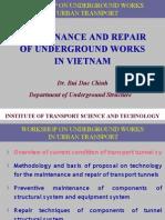 Underground Works in VietNam-B.D