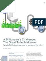 A Billionaire's Challenge