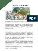 La Batalla de Pichincha 1