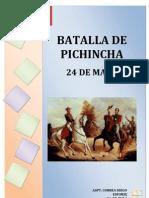 La Batalla de Pichincha