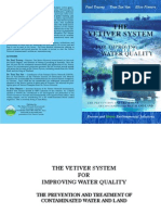 Vetiver System for Improvement of Water Quality