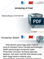 Pneumatic Conveying of Coal and Ash