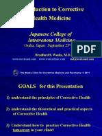 Introduction to Corrective Health Medicine
