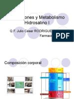 2. Alteraciones y Metabolismo Hidrosalino