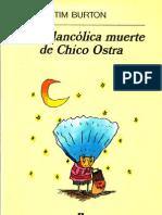 La Melancolica Muerte Del Chico Ostra - Tim Burton