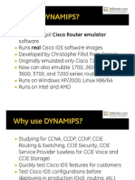 Introduction to Dynamips