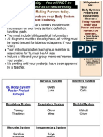 Human Biology Day 15, 2011-2012