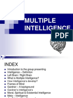 Multiple Intelligence - Final