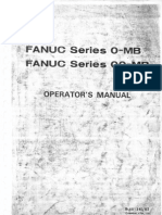 FANUC Series 0-MB, FANUC Series 00-MB OPERATOR'S MANUAL