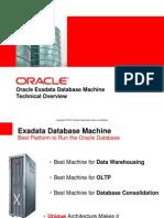 Exadata Database Technical Overview