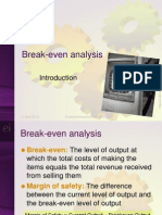 Break-Even Analysis Pres