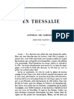 La Thessalie Journal de Campagne