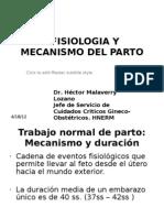 Fisiologia Del Parto. 15.12.10
