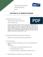 Andrea Aguinaga Galvez - Billetes