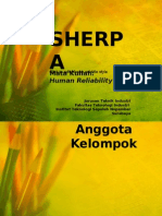 Human Reliability - SHERPA Method
