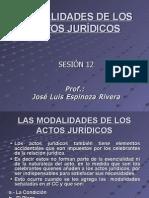 14.Modalidades de Los Actos Juridico