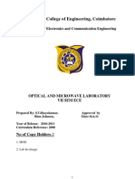 38579016 Microwave Lab Manual