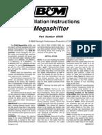 B&M Megashifter Installation Manual